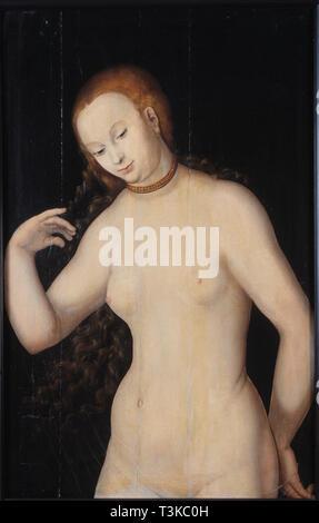 Venus, zwischen 1527 und 1531. In der Sammlung von Hallwylska Museet, Stockholm gefunden. Stockbild