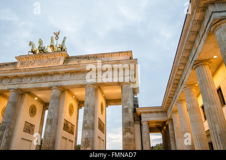 Brandenburger Tor in Berlin Stockbild