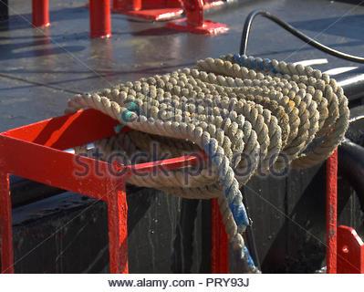 Auf Fischerbooten Portsmouth Fisch Dock England Detail Stockbild