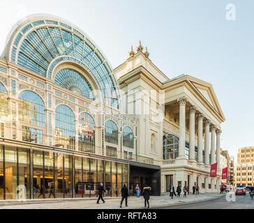 Das Royal Opera House in Covent Garden, London, England, Vereinigtes Königreich, Europa Stockbild