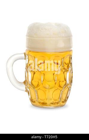 Bier Glas 1. Stockbild