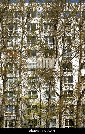Wohnungen, Berlin, Deutschland Stockbild