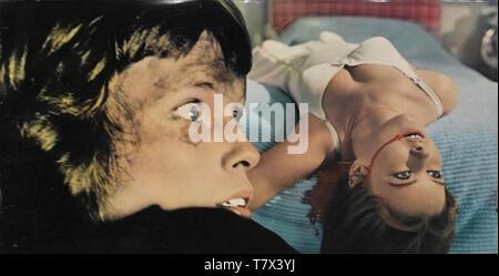 Siehe kein Übel 1971 Columbia Pictures Film mit Mia Farrow Stockbild