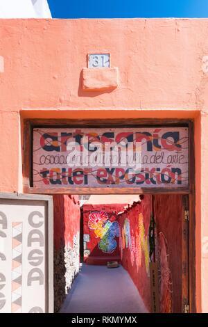 Agüimes Village, Insel Gran Canaria, Kanarische Inseln, Spanien, Europa. Stockbild