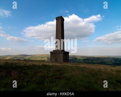 Wehrturms Bury Lancashire Stockbild