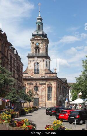 Kirche St. Johann, Altstadt, Saarbrücken, Saarland, Deutschland Stockbild