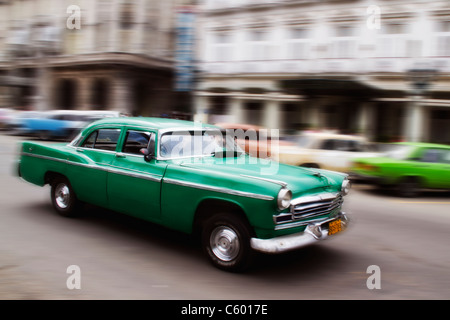 Oldtimer in Havanna Kuba Stockbild