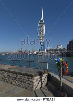 Portsmouth Spinnaker Tower Stockbild