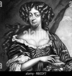SOPHIA BULKELEY (c) 1645-1718 Scottish Jacobite Höfling Stockbild