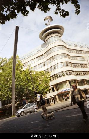 Berliner Bankgebäude in Kurfürstendamm aka Varietes, Berlin, Deutschland Stockbild