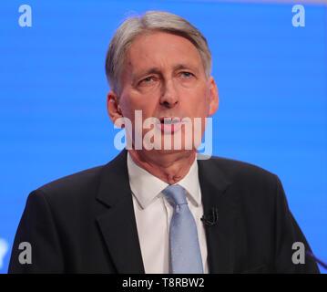PHILIP HAMMOND MP, 2018 Stockbild