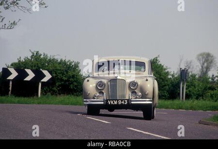 1953 Jaguar MKVII Limousine Stockbild