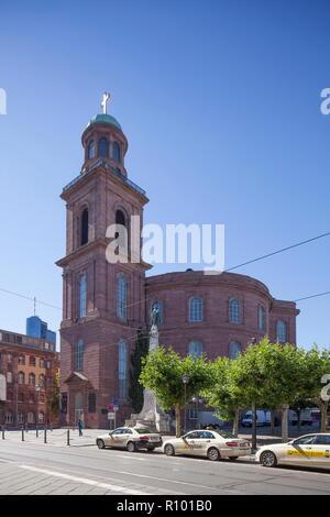 Paulskirche, Frankfurt, Hessen, Deutschland, Europa ich Paulskirche, Frankfurt am Main, Hessen, Deutschland, Europa I Stockbild