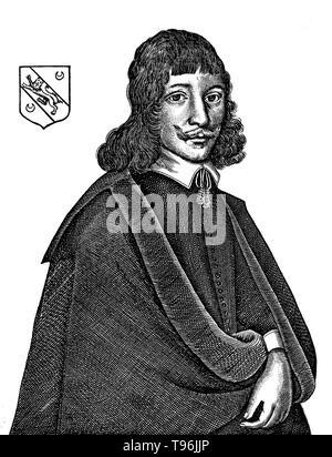 Nicholas Culpeper (18. Oktober 1616 - 10. Januar 1654 ) war ein englischer Botaniker, herbalist, Arzt und Astrologe. Seine veröffentlichten Bücher umfasst die English Physitian (1652), Die gesamte Pflanzliche (1653), enthält eine Fülle von Pharma- und Kräuter wissen, und astrologische Urteil von Krankheiten aus dem Decumbiture der Kranken (1655), der einer der am meisten detaillierte Unterlagen bekannt auf der Praxis der medizinischen Astrologie. Stockbild