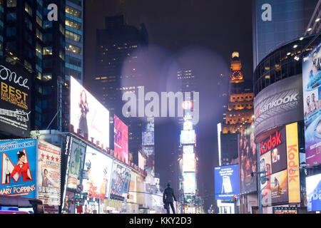 Times Square - New York City - Vereinigte Staaten - USA Stockbild