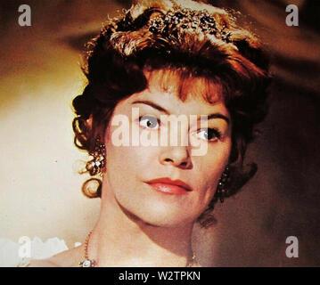 Die NELSON AFFÄRE aka Legat an die Nation 1973 Universal Pictures Film mit Glenda Jackson als Lady Hamilton Stockbild