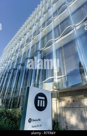 Swiss Re Hauptsitz in Zürich, Swiss Re nächsten Gebäude, von Diener & Diener Architekten, Zürich, Schweiz Stockbild