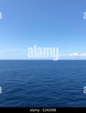 Ruhe oceanscape Stockbild