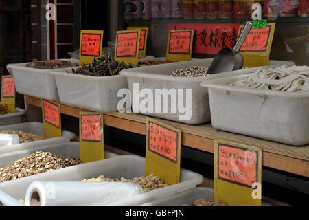 Chinatown New York speichern Stockbild