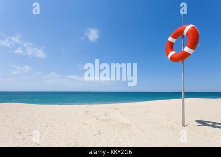 Portugal - Algarve - Ilha de Faro - Life Guard - Europa Stockbild