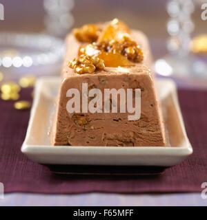Schokolade-terrine Stockbild