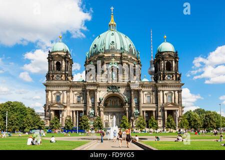 Berlin, die Kathedrale Stockbild