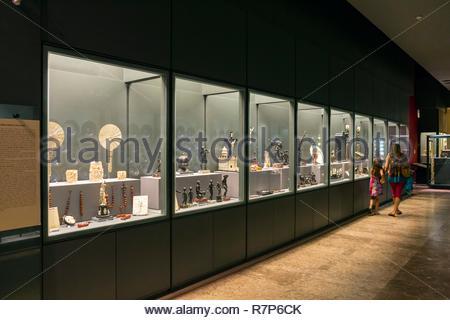 Italien, Kampanien, Neapel, historischen Zentrum als Weltkulturerbe von der UNESCO, Museo di Capodimonte Stockbild