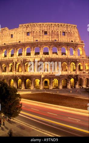 Rom-Kolosseum im Morgengrauen Stockbild