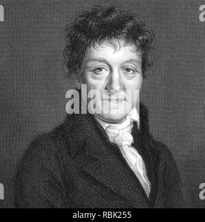 LAZARE CARNOT (1753-1823) Französischer Mathematiker und Politiker Stockbild