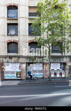 Ein Sydney Street Scene. Stockbild