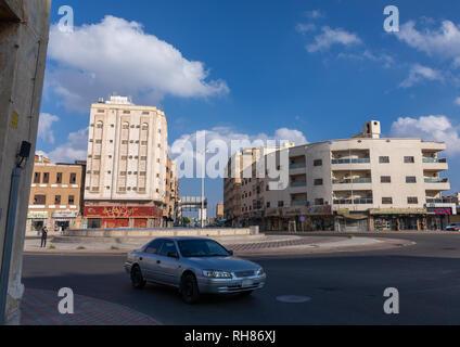 Stadtzentrum, Mekka Provinz, Taïf, Saudi-Arabien Stockbild