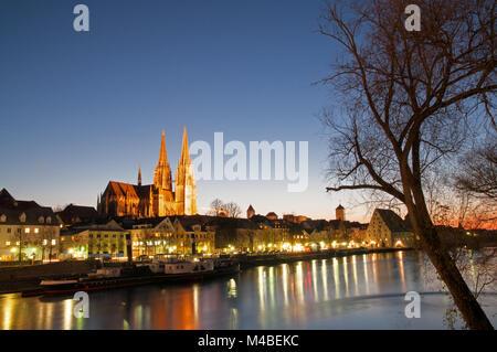 Regensburg Stockbild