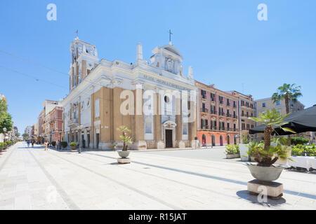Taranto, Apulien, Italien - 31. MAI 2017 - Kirche von Maria Santissima del Monte Carmelo Stockbild