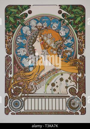 (Sternzeichen), 1896. Private Sammlung. Stockbild