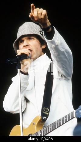 BECK amerikanische Sänger im Jahr 1997 Stockbild