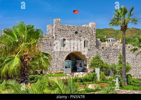 Burg von Marmaris, Marmaris, Türkei Stockbild