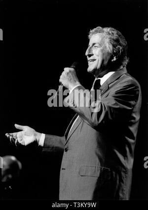 Tony Bennett, North Sea Jazz Festival, Den Haag, 2000. Stockbild