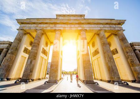 Brandenburger Tor Stockbild