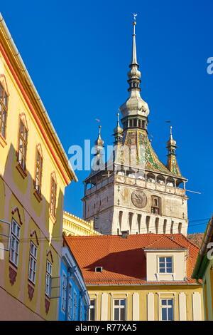 Sighisoara Altstadt, Siebenbürgen, Rumänien Stockbild