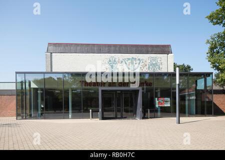 Theater, Leer, Ostfriesland, Niedersachsen, Deutschland, Europa Stockbild