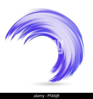Zusammenfassung Hintergrund mit einem Aquarell wave Stockbild