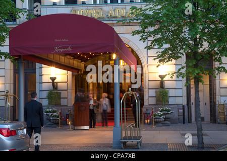 Hotel Adlon Kempinski, Berlin, Deutschland Stockbild