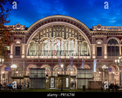 Bahnhof Porta Nuova, Turin, Piemont, Italien, Europa Stockbild