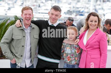 Kris Hitchen, Rhys Stein, Katie Proctor, Debbie Honeywood, ,2019 Cannes Stockbild
