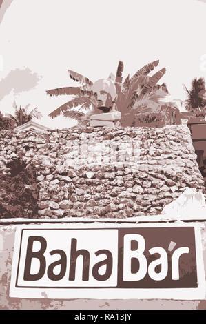 Baha Bar, Insel Siquijor, Philippinen Stockbild