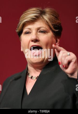 EMILY THORNBERRY MP, 2018 Stockbild
