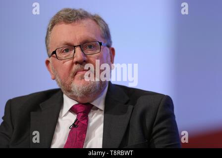 DAVID MUNDELL MP, 2018 Stockbild