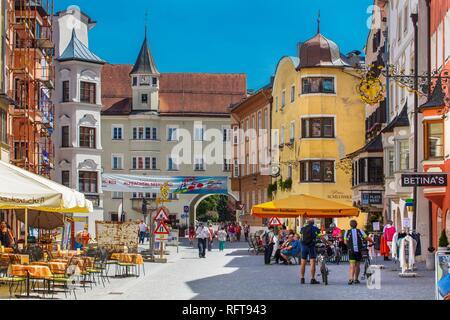 Rattenberg, Tirol, Österreich, Europa Stockbild