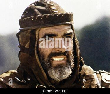 ROBIN UND MARIAN 1976 Columbia Pictures Film mit Sean Connery als Robin Hood Stockbild