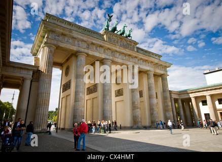 Das Brandenburger Tor in Berlin, Deutschland Stockbild
